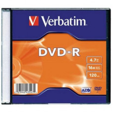 Verbatim DVD-R 4,7GB 16x slim   lemez
