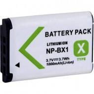 NP-BX1 Sony kamera akku, 3,7 V, 1000 mAh, lítium, Conrad Energy
