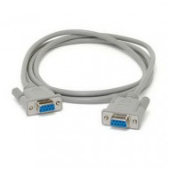 Kolink null modem kábel DB9 F/F soros