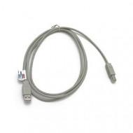 USB 2.0 összekötő kábel A/B, 1.8m