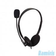 Gembird MHS-123 Headset Headset,2.0,3.5mm,Kábel:1,8m,32Ohm,20Hz-20kHz,Mikrofon,Black
