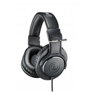 Audio-technica ATH-M20X Black Fejhallgató,2.0,3.5mm,Kábel:3m,47Ohm,15Hz-20000Hz,Black