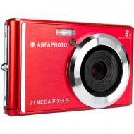 Digitális kamera AgfaPhoto DC5200 21 MPix Piros, Ezüst