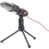 Számítógépes mikrofon Gembird MIC-D-03 Fekete Vezetékes