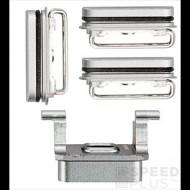 Apple Apple iPhone 6S, oldalsó gombok (4db), ezüst