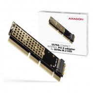 AXAGON PCEM2-1U PCIE NVME M.2 x16/x8/x4 M-Key slot adapter PCEM2-1U