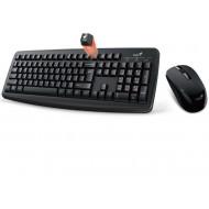 Genius Smart KM-8100 wireless combo billentyűzet + egér Black HU 31340004404