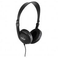 Sencor SEP 275 ultra könnyű fekete fejhallgató 35048782