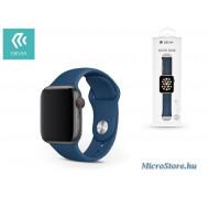 Devia Apple Watch lyukacsos sport szíj - Devia Deluxe Series Sport Band - 38/40 mm - blue ST324826