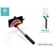 Devia Devia Selfie Holder szelfi bot exponáló gombbal, Lightning csatlakozóval - Devia Leisure Series Selfie-Stick - black ST324635
