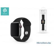 Devia Apple Watch lyukacsos sport szíj - Devia Deluxe Series Sport Band - 42/44 mm - black ST324963