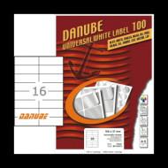 105*37 mm íves etikett címke  (LCJ107) /db