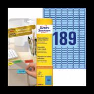 25,4*10 mm íves etikett címke  (Avery-Zw.L6048-20) /db