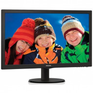 "Philips 21,5"" 223V5LSB2 LED 21,5"",1920x1080,10M:1/600:1,200cd/m2,5ms,Black,LED,D-Sub,21,5"",Full HD,16:9"