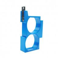 Dupla DIN sín tartó / adapter 2 db Shelly 1 és Shelly 1PM relékhez DIN-SHE1-DUP