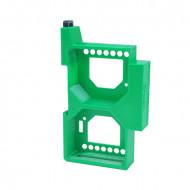Dupla DIN sín tartó / adapter Shelly Dimmer és Shelly Dimmer 2 vezérléshez DIN-DIM-DUP