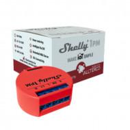 Shelly 1PM egycsatornás Wi-Fi-s okosvezérlés áramfogyasztásmérés funkcióval ALL-REL-SHE1PM