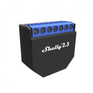 Shelly 2.5 kétáramkörös Wi-Fi-s okosvezérlés, redőnyvezérlés ALL-REL-SHE25