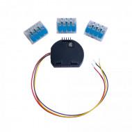 Shelly hőmérséklet szenzor adapter Shelly 1 / Shelly 1PM-hez DS18B20 hőmérséklet-érzékelő csatlakoztatásához ALL-KIE-TEMP