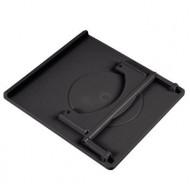"""HAMA 360 fokban forgatható notebooktartó 15.4"""" Black"""