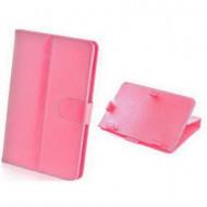 """Univerzális tablet bőrtok 8"""" rózsaszín"""