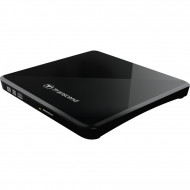 Transcend TS8XDVDS-K USB2.0 Extra Slim Portable DVD Writer Black
