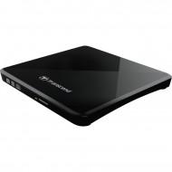Transcend TS8XDVDS-K USB2.0 Extra Slim Portable DVD Writer Black